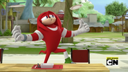 Knuckles the biggest fan