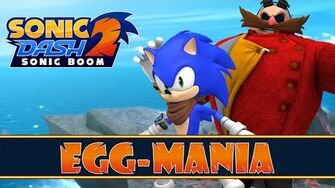 Sonic Dash 2 Sonic Boom Android - Egg-Mania Event