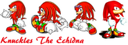 Knuckles the echidna by milestailsprower8000-d4q781v