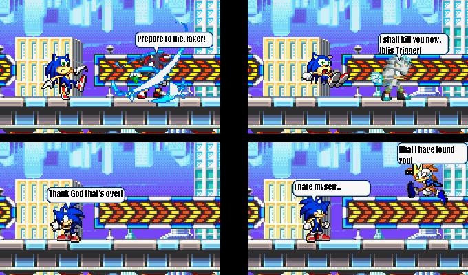 Sonic Hedgehog = DIE!