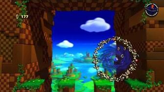 Sonic Lost World (Wii U) Windy Hill - Zone 4 - and Zazz Boss Battle