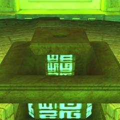 Pedestal donde se coloca una Chaos Emerald