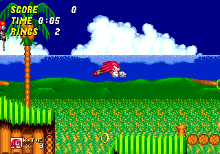 File:Emerald Hill Knuckles in Sonic 2.png