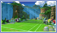 Green Hill Zone (Sega Superstars Tennis DS)