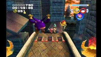 Sonic Heroes Hang Castle (Team Rose)