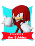 Knuckles card happy