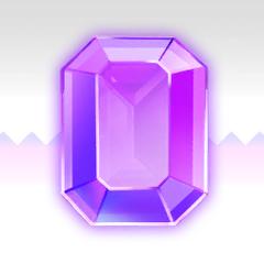 La Sol Emerald púrpura en <i><a href=