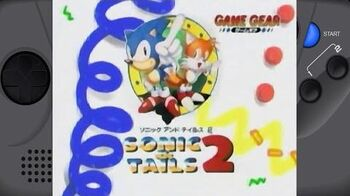 Sonic & Tails 2 Sega Game Gear Commercial Japan