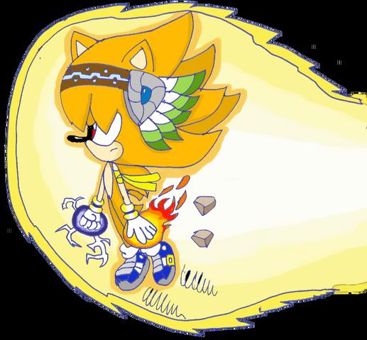 File:Super cesar is back by cesarthehedgehog-d3jpxm4.png