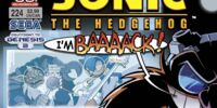Archie Sonic the Hedgehog Issue 224