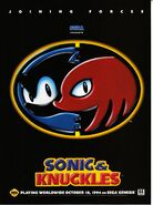 Sonic & Knuckles Ad