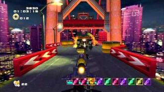 Sonic Adventure 2 (PS3) Mission Street Mission 3 A Rank