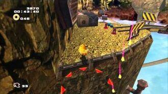 Sonic Adventure 2 (PS3) Sky Rail Mission 1 A Rank