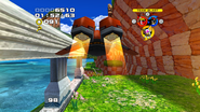 Sonic Heroes Flapper Jet Flames