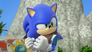 Determined Sonic