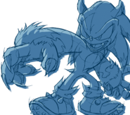 Wallpaper 048 werehog 01 pc