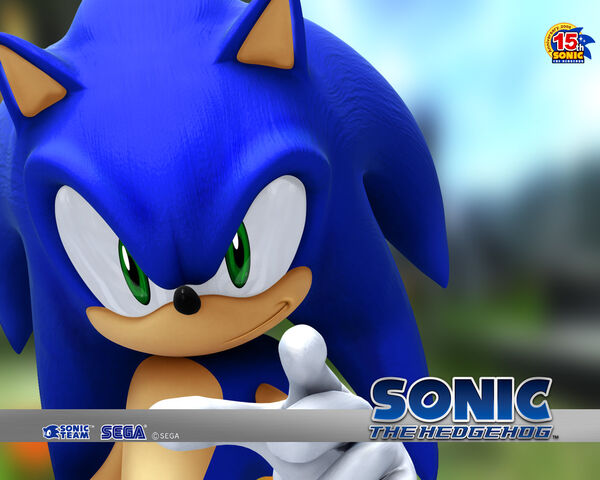 File:Sonic's Sonic 2006 wallpaper.jpg