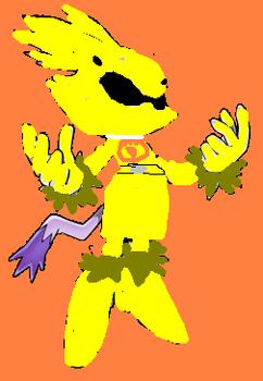 Blaze dt yellow ranger