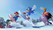 Mario & Sonic at the Olympic Winter Games - Opening - Screenshot 14