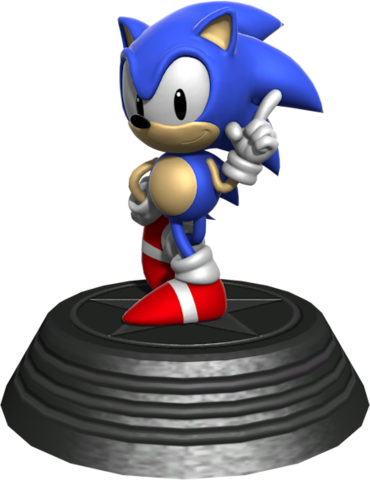 File:Sonic Generations Classic Sonic Statue.png
