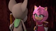 Amy talking to gogaba