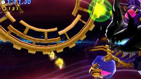Sonic Generations 3DS - Time Eater