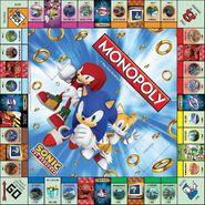 SonicMonopolyBoard
