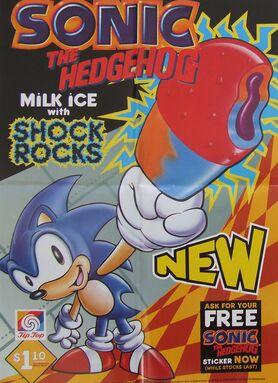 Sonic ice cream