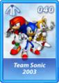 Card 040 (Sonic Rivals)