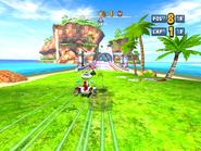 Sonic & SEGA All-Stars Racing Ocean Ruin 2