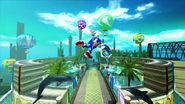Sonic free riders sonic 2