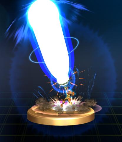 File:Zero Laser - Brawl Trophy.png