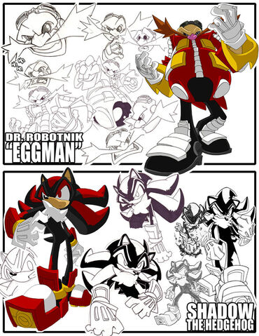 File:Sketches Eggman Shadow by herms85.jpg