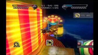 Shadow the Hedgehog Stage 3-3 Circus Park (Hero Mission no com)