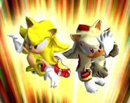 Super Sonic & Super Shadow2