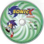 Sonic X Volume 4 AUS DVD