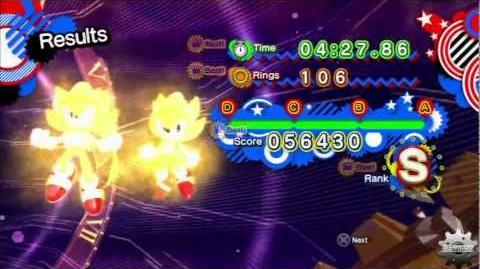 Sonic Generations Final Boss Time Eater