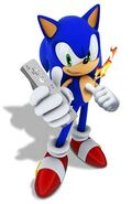 Sonic pose 50