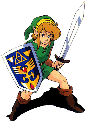 File:Link Link to the Past Sticker.png