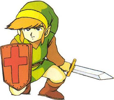 File:Link Legend of Zelda Sticker.png