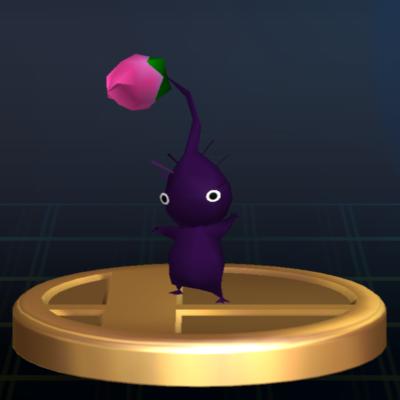 File:Purple Pikmin - Brawl Trophy.png