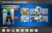 I.B.S Trainer Card - Shade