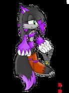 Selania the werehog by scars echidna-d5r0xqh