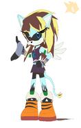 Elissa The Pegacat- Sonic boom style