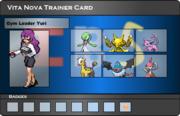 I.B.S Trainer Card - Yuri