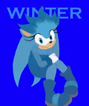 G winter the hedgehog by wierdowarden-d4b83yd