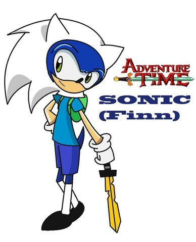 File:Sonic cosplay finn adventure time by shadcream4eva-d5fsevn (2).jpg