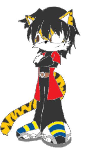 Faelan tiger fursona chjchjmj