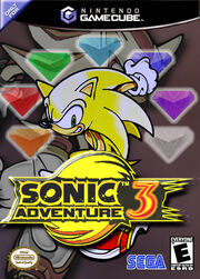 Sonic adventure 3 box art c
