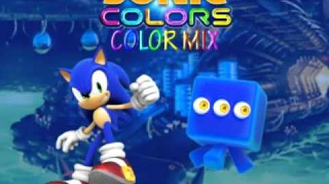Sonic Colors - Color Mix (Cubed Asteroid Coaster)